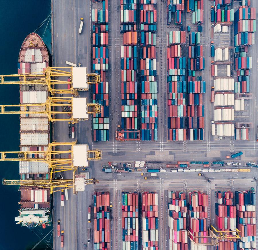 image Container logistics
